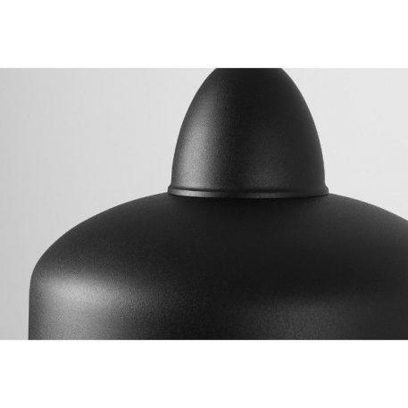 Lampa wisząca - czarny metal - Aldex