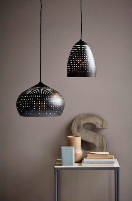 Lampa wisząca - czarny metal - Nordlux