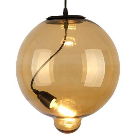 Lampa wisząca Glass bubble do salonu