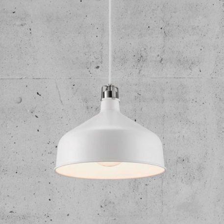 Lampa wisząca industrialny biały  - Salon