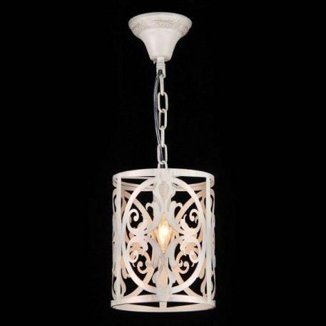 Lampa wisząca - kremowy metal - Maytoni