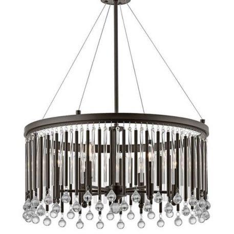Lampa wisząca kryształowe brązowy  - Kuchnia