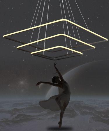 Lampa wisząca - LA072/P_80_out_3k_black