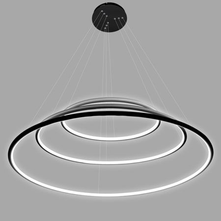 Lampa wisząca - LA075/P_80_in_3k_black