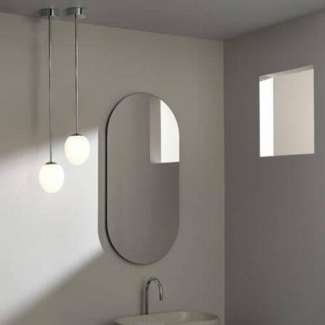 Lampa wisząca Lampy i oświetlenie LED biały, srebrny  - Łazienka