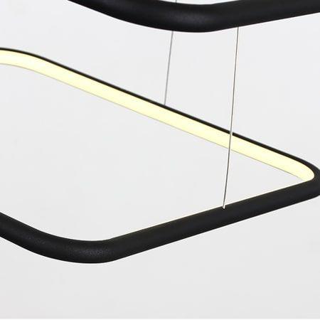 Lampa wisząca Lampy i oświetlenie LED Czarny  - Salon