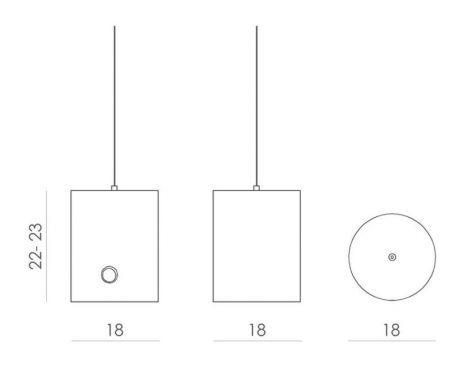 Lampa wisząca - LGH0412