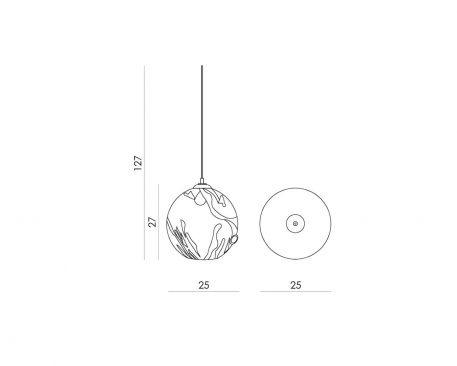 Lampa wisząca - LGH0570