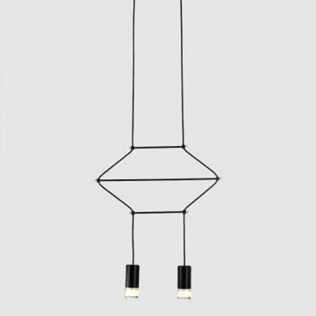 Lampa wisząca Linea do salonu