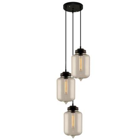 Lampa wisząca London Loft do salonu