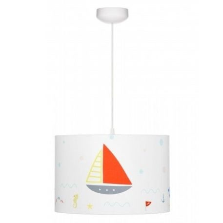 Lampa wisząca Morska przygoda do pokoju dziecięcego