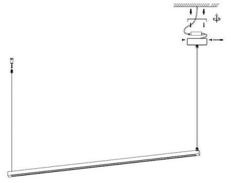 Lampa wisząca - ST-8960-L100