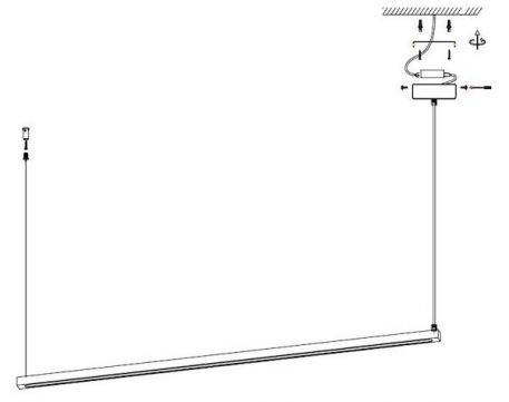 Lampa wisząca - ST-8960-L120