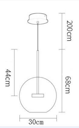 Lampa wisząca -  - STEP