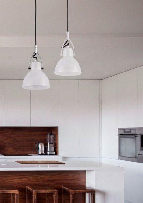 Lampa wisząca - Styl nowoczesny - biały -  - Salon