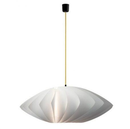 Lampa wisząca - Styl nowoczesny - biały -  - Sypialnia