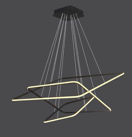 Lampa wisząca Styl nowoczesny Czarny  - Salon