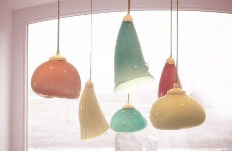 Lampa wisząca Styl nowoczesny Niebieski  - Kuchnia