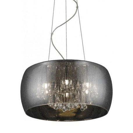 Lampa wisząca Styl nowoczesny srebrny  - Sypialnia