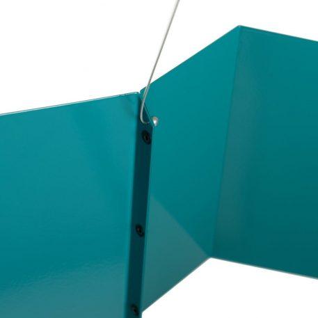 Lampa wisząca Styl nowoczesny Zielony  - Sypialnia