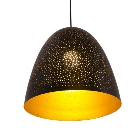 Lampa wisząca Styl nowoczesny złoty, Czarny  - Kuchnia