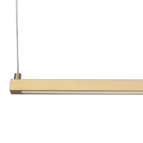Lampa wisząca Styl nowoczesny złoty  - Kuchnia