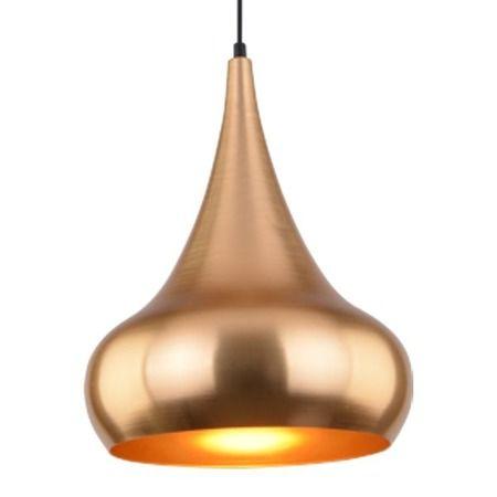 Lampa wisząca Styl nowoczesny złoty  - Sypialnia