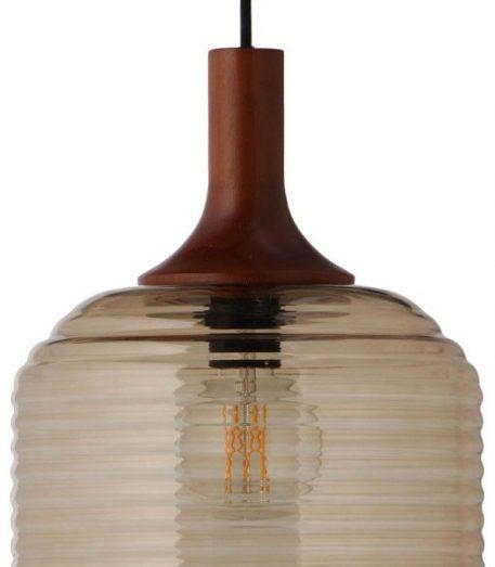 Lampa wisząca Styl skandynawski beżowy  - Salon