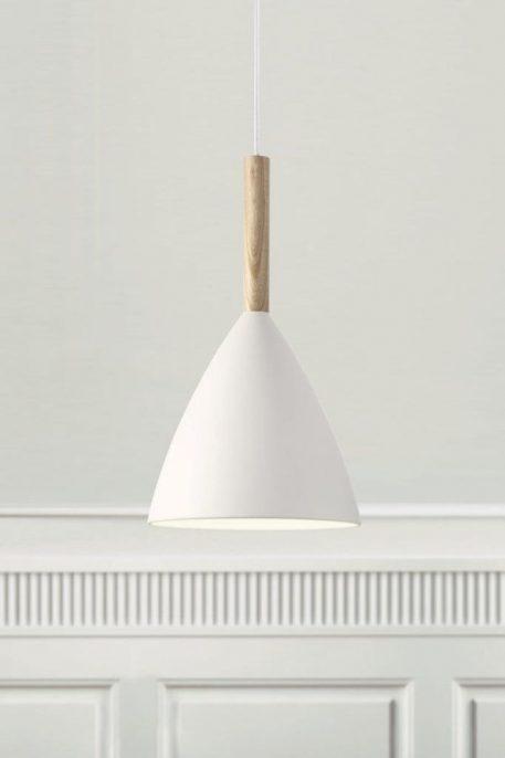 Lampa wisząca Styl skandynawski biały  - Kuchnia