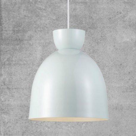 Lampa wisząca Styl skandynawski biały  - Salon