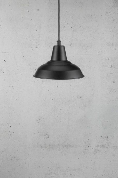 Lampa wisząca Styl skandynawski Czarny  - Kuchnia