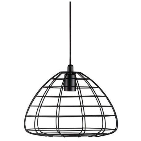 Lampa wisząca Styl skandynawski Czarny  - Salon
