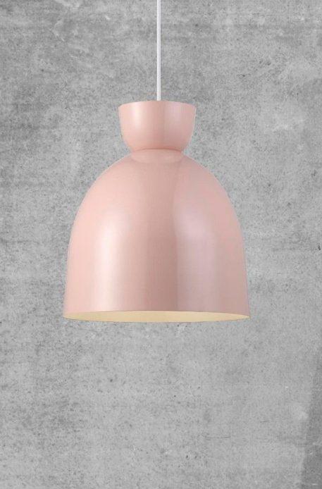 Lampa wisząca Styl skandynawski różowy  - Salon