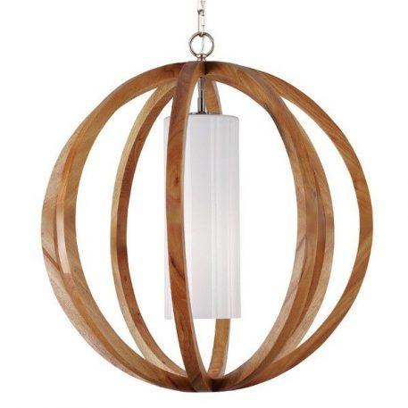 Lampa wisząca szklane biały, brązowy  - Kuchnia