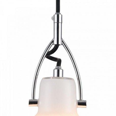 Lampa wisząca - szkło, chrom - Maytoni