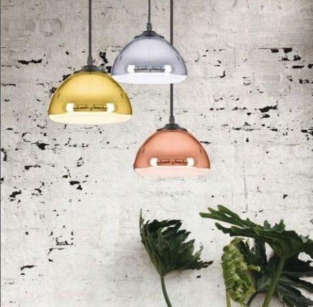 Lampa wisząca złoty  - Salon