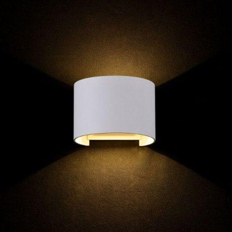 Lampa zewnętrzna - biały metal - Maytoni