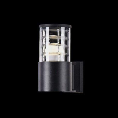 Lampa zewnętrzna - czarny metal, szkło - Maytoni