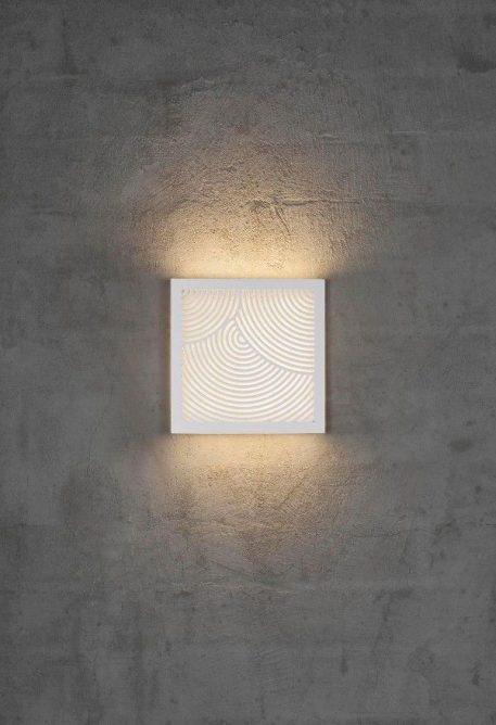 Lampa zewnętrzna Styl nowoczesny biały  - Salon