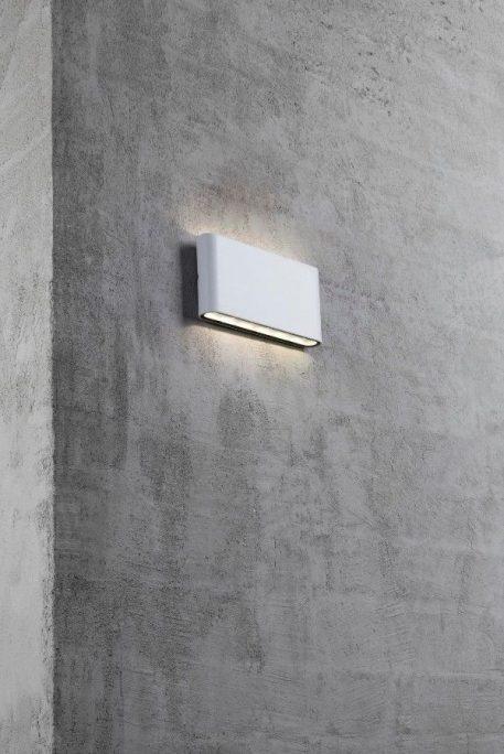 Lampa zewnętrzna Styl nowoczesny biały  - Zewnątrz