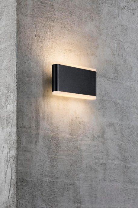 Lampa zewnętrzna Styl nowoczesny Czarny  - Zewnątrz