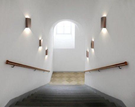 Lampa zewnętrzna - Styl nowoczesny - miedź -  - Salon