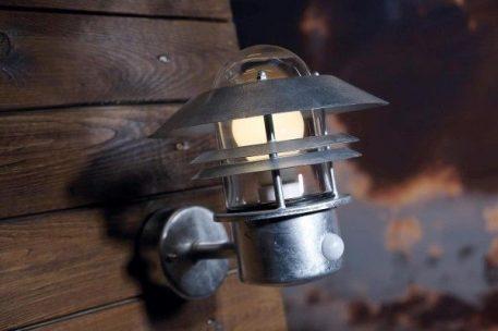 Lampa zewnętrzna Styl nowoczesny srebrny  - Zewnątrz