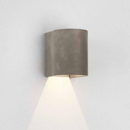 Lampa zewnętrzna Styl nowoczesny Szary  - Zewnątrz