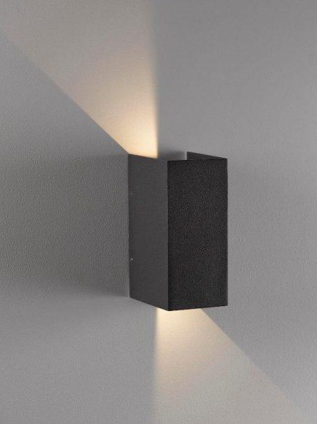 Lampa zewnętrzna - szary metal, szkło - Nordlux