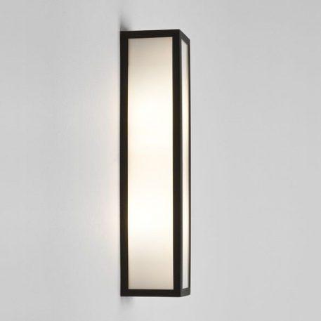 Lampa zewnętrzna szklane biały, Czarny  - Salon