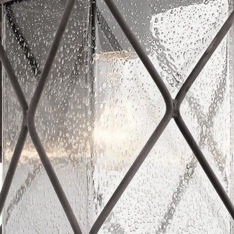 Lampa zewnętrzna szklane brązowy, transparentny  - Zewnątrz