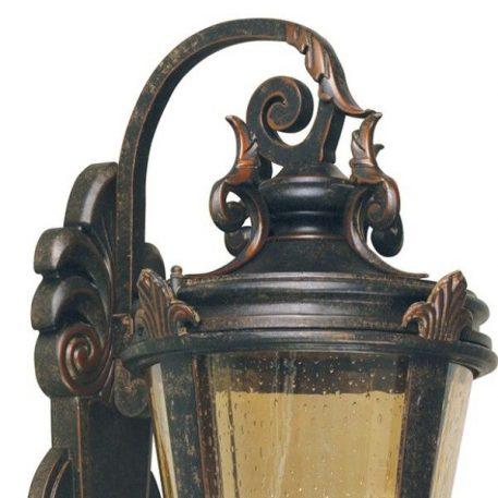 Lampa zewnętrzna szklane brązowy  - Zewnątrz