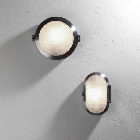 Lampa zewnętrzna szklane srebrny  - Łazienka