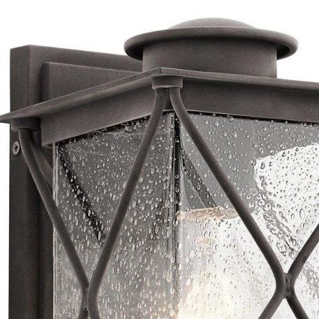 Lampa zewnętrzna - szkło, postarzana cyna - Ardant Decor